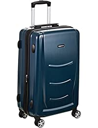 AmazonBasics Hardshell Spinner Luggage - 20-Inch, Navy Blue