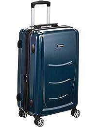 AmazonBasics Hardshell Spinner Luggage - 20-Inch, Navy Blue