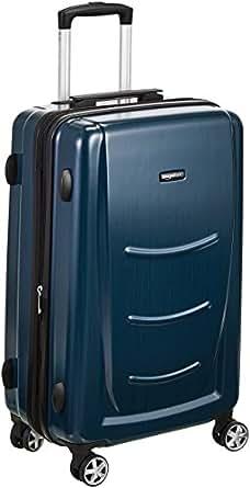 AmazonBasics Hardshell Trolley Luggage - 20-Inch, Navy Blue