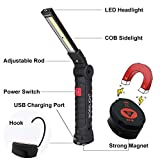 Lebote LED Work Light,COB Rechargeable Work Light