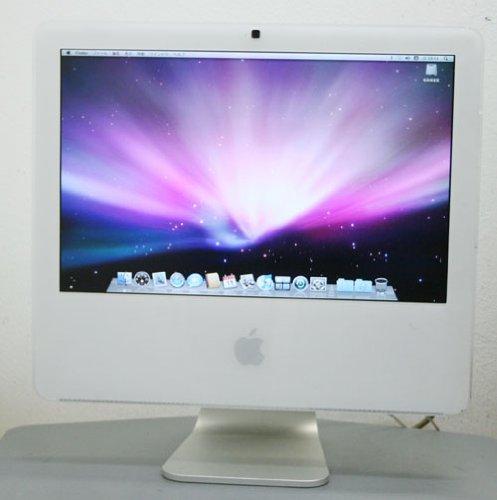 アップル Apple iMac MA590J A(Core2Duo-2GHz 17インチワイド液晶 1GB 250GB iSight AirMac Bluetooth)