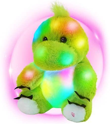 Colorful Plush Dinosaur Toy Stuffed Plush Doll Children Gift Birthday Christmas