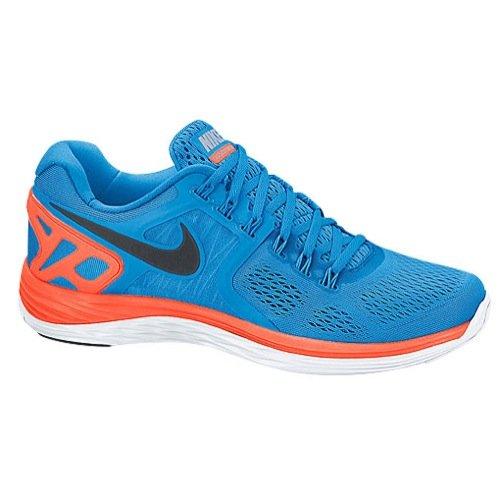 Nike Lunareclipse Blue/ Orange/ White 401 Size 12.5