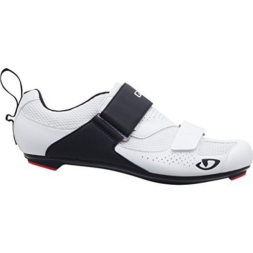 Giro Men's Inciter Tri Shoes, White/Black, Size 43.5