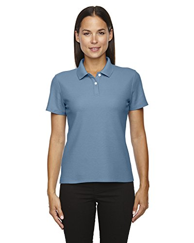 Devon & Jones Ladies DRYTEC Performance Polo Shirt, SLATE BLUE, X-Large