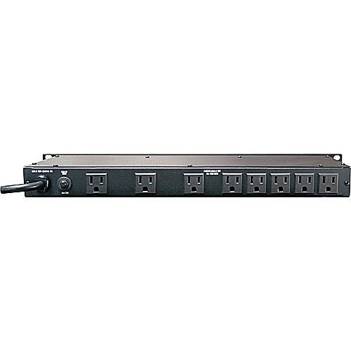 Furman M-8Lx Merit X Series 8 Outlet Power Conditioner & Surge Protector with Dual Rack Lights plus (2) Hosa 18 Gauge Electrical Extension Cable by Furman (Image #3)