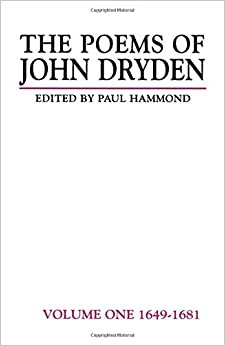 Como Descargar Torrent The Poems Of John Dryden: Volume One: 1649-1681: 1649-81 V. 1 Directa PDF
