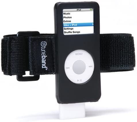 Prestado Perenne Anguila  Amazon.com: Grantwood Technology TuneBand for iPod Nano 1st/2nd Generation,  Premium Armband Compatible with Nike Plus iPod (Models A1137 and A1199),  Black