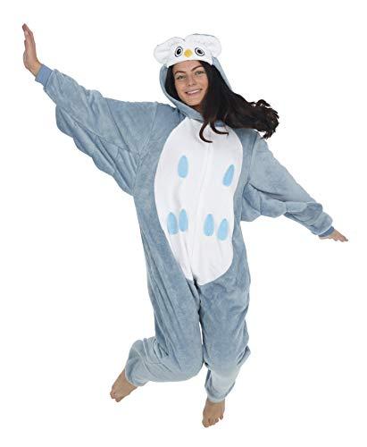 Pijama de búho para niña