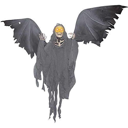 Animated Hanging Grim Reaper Halloween Decoration