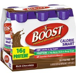 Boost Calorie Smart Rich Chocolate Flavor 8 oz. Bottle Ready to Use, 12188057 – Each