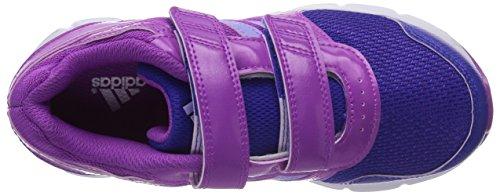 Adidas Hyperfast Cf - Zapatillas de deporte infantiles unisex Flash Pink/Glow Purple/Night