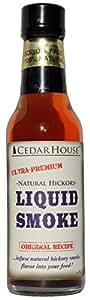CedarHouse Ultra-Premium Liquid Smoke: All Natural Hickory Liquid Smoke - 4 FL OZ