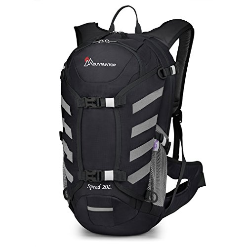 Mountaintop Hydration Pack Backpacks Hiking Backpack for Cycling Running Bicycle Walking Climbing Camping Snow Sport