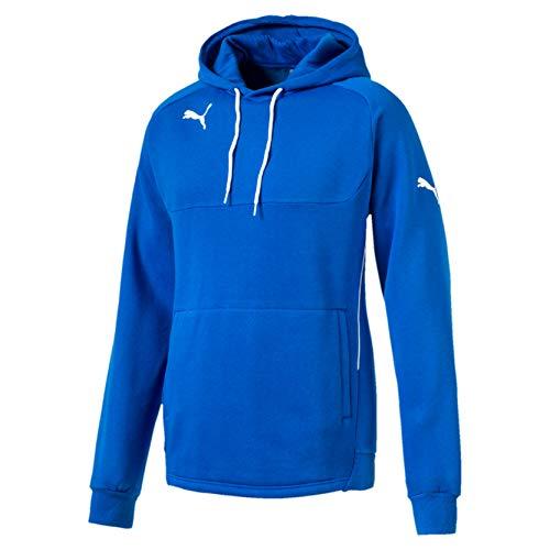PUMA Sweatshirt Hoody – Sudadera de fútbol para hombre, color azul, talla 2XL