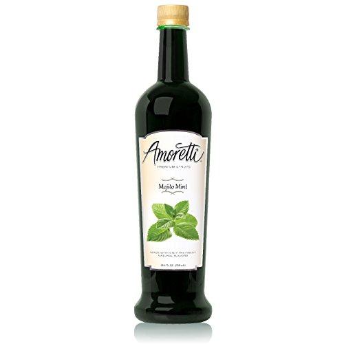 Amoretti Premium Syrup, Mojito Mint, 25.4