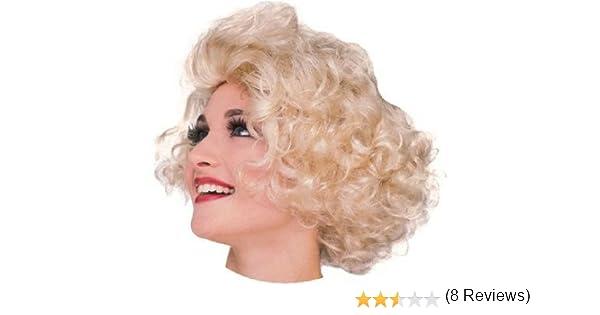Estilo de la peluca rubia actriz de Hollywood peluca rubia Marilyn ...