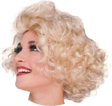 Hollywood Actress Fancy Dress Costumes (Hollywood actress wig blonde wig blonde Marilyn Monroe style for women (japan import))