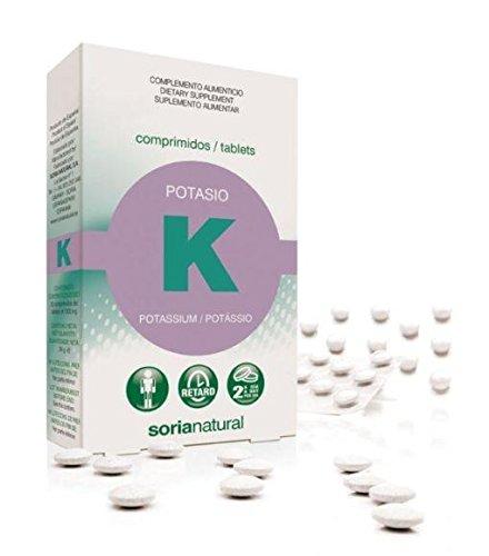 Soria Natural Potasio Retard - 20 Tabletas: Amazon.es: Salud y cuidado personal