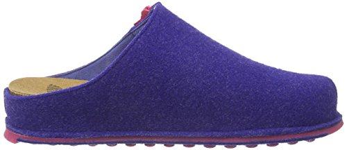 Scholl SPIKEY3 - zuecos de fieltro mujer azul - Blau (Royal Blue)