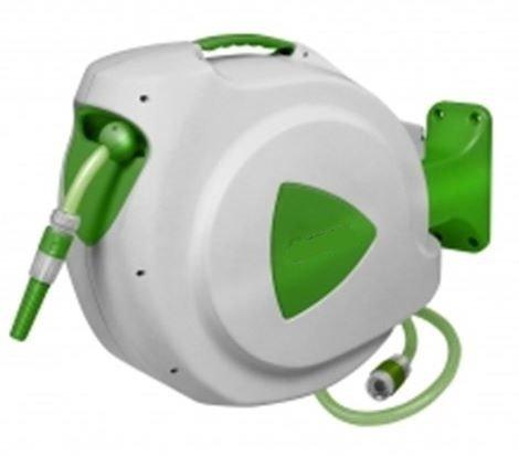 Gartenschlauchtrommel Schlauchtrommel Schlauchaufroller Schlauchrolle Wasserschlauchtrommel 30m SAFE Return