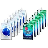 「浸みわたる水素水(500ml×6本)」+「ナノ水素水キヨラビ(500ml×6本)」飲み比べお試し12本セット