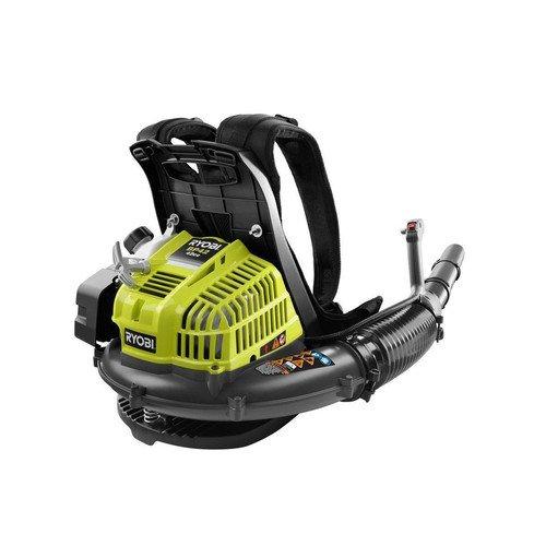[Ryobi RY08420 42cc Gas Powered 2-Cycle Backpack Leaf Blower 185 mph] (Ryobi Backpack)
