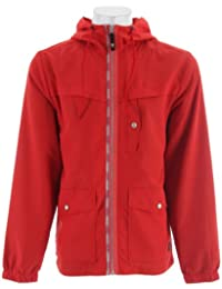 Trent Windbreaker Texas Red Mens