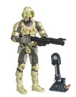 - Star Wars The Legacy Collection Kashyyyk Trooper Build-A-Droid  3-3/4 Inch Scale Action Figure GH No. 2