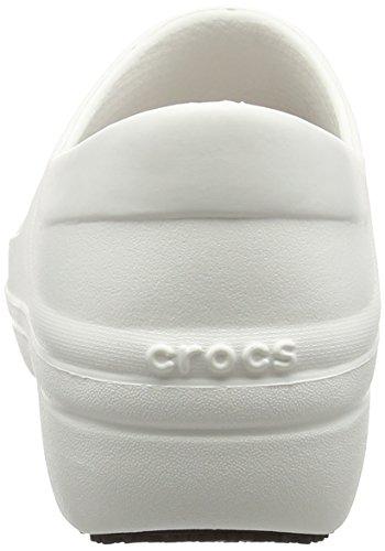 Crocs Neria Pro, Zuecos para Mujer Bianco (White)