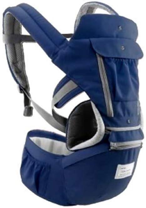Adaym 3 en 1 Baby Soft Carrier con Hip Seat 360 todo en uno Mochila envolvente Ergon/ómica Asientos de viaje premiados para reci/én nacidos y beb/és