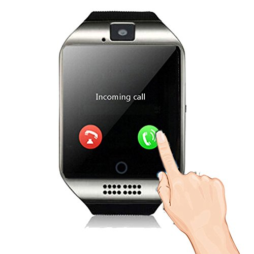 Smartwatch Unlocked Watch Cell Phone All in 1 Bluetooth Smart Watch with Camera Handsfree Call for Samsung LG HTC Motorola Huawei Xiaomi and other Android Smartphones Men and Women Birthday Gift