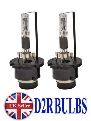 D2R HID Xenon Bulb 2 Replacement Bulbs for Headlight 35w Lamp Light UK 6000k White A&E