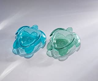product image for Annieglass Turtle 7.5 X 6.5 In. Small Turtle Bowl Ultramarin