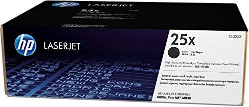 HP 25X (CF325X) Black High Yield Original LaserJet Toner Cartridge