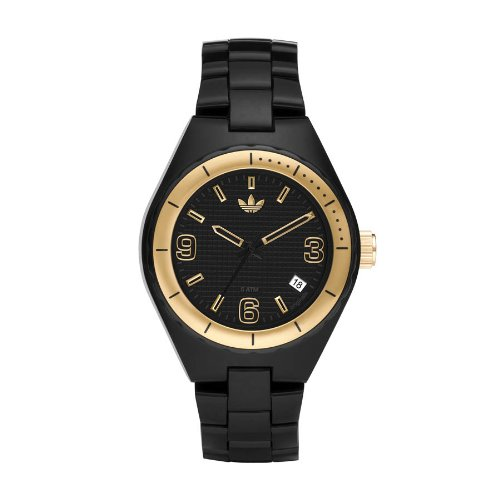 Adidas Originals ADH2504 - Reloj unisex de cuarzo, correa de caucho color negro: Amazon.es: Relojes