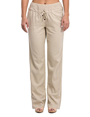 Drawstring Cotton Pants - 5