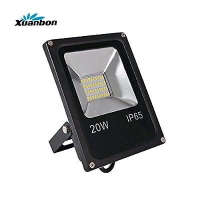 Warm white 3000k, 10W 110V 220V : LED Flood Light 10W 20W 30W 50W IP65 Projector Waterproof AC220V DC12V Floodlight Spotlight Outdoor Wall Lamp outside Lamp SMD