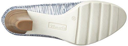 Tamaris 22402, Zapatos de Tacón para Mujer Plateado (Silver Comb 948)