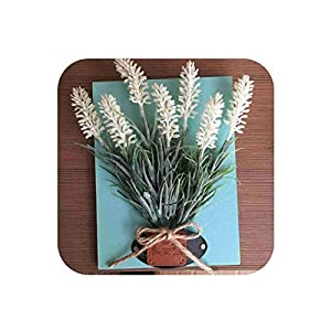 Creative 3D Artificial Plant Wall Hanging Fake Flower for Home Hotel Decor Wall Art Decoration Nordic Flowers Ornament,01 29