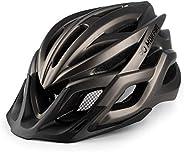 MOKFIRE Adult Bike Helmet with Rechargeable USB Light, Bicycle Helmet Men Women, Road Cycling & Mountain B