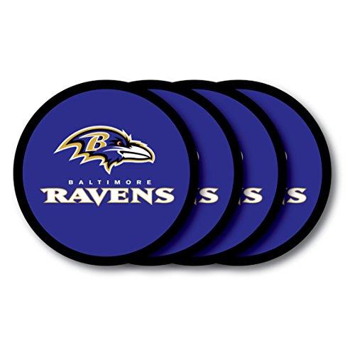 NFL Baltimore Ravens Vinyl Coaster Set (Pack of 4)