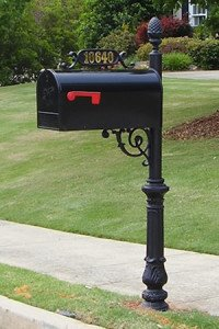 The Charleston Mailbox and Post System (Large) - Mailbox Post System