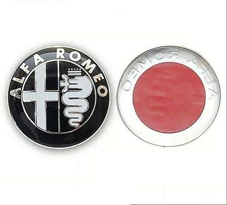 Iggy Emblem Logo Kompatibel 74 Mm 145 146 147 156 159 Giulietta Mito Auto