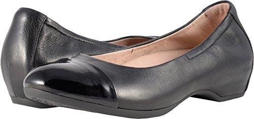 Dansko Women's LISANNE Ballet Flat, Black Milled Nappa, 39 Medium EU (8.5-9 US)