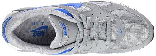 Nike Air Max Ivo - Zapatillas deportivas para hombre, color gris / azul / blanco