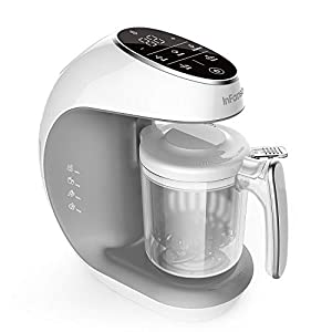 Infanso Baby Food Maker Food Processor BF300 for Infants and Toddlers 7 in 1 Organic Food Making Machine with Steam…