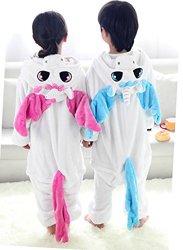 Children' Cosplay Halloween Tonwhar Unicorn Kigurumi s Animal Kids Costumes Onesie Pink UgxTfxqwn