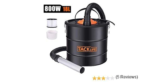 TACKLIFE - Aspirador de agua y polvo para aspirador de acero ...