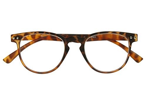 GL2134BLK +2.0 Eyelighter Black Tortoiseshell LED Night Reading Glasses Goodlookers by Chichi Gifts
